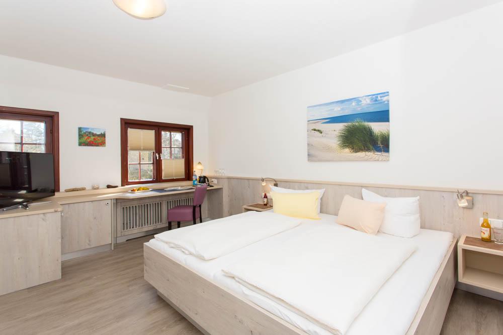 Geräumige Zimmer, hell und modern im Hotel Letj Briis